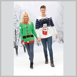 3D Christmas jumper Elf