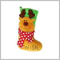 Reindeer Bright character stocking