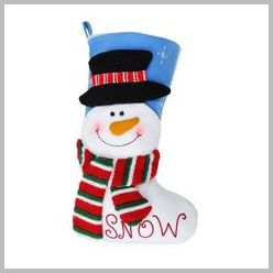 Snowman Bright character stocking