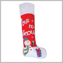 Santa Giant Christmas stocking felt