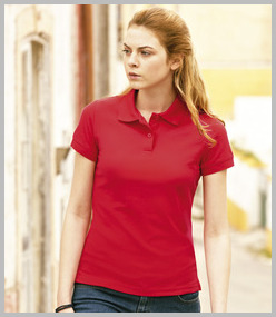 Ladies Poly-Cotton Polo Shirts