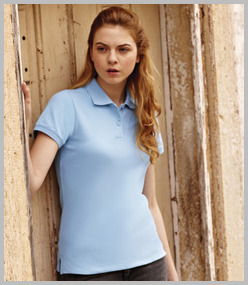 Ladies Cotton Polo Shrts
