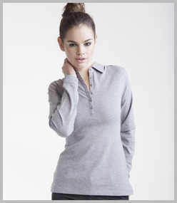 Ladies Long Sleeve Polo Shirts