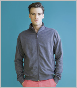 Skinnifitmen Essential Full Zip Sweatshirt
