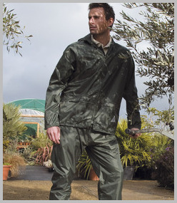 Result Weatherguard Jacket/Trouser Suit in Carry Bag