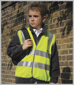 Result Kids Safeguard High Viz Vest