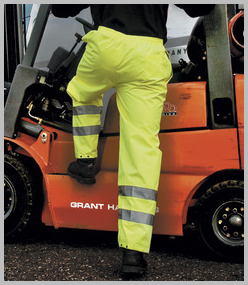 Result Safeguard High Viz Trouser