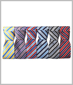 Premier Candy Stripe Business Tie