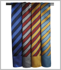 Premier Wide Stripe Business Scarf
