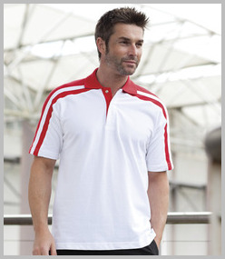 Finden & Hales Racing Pique Polo Shirt