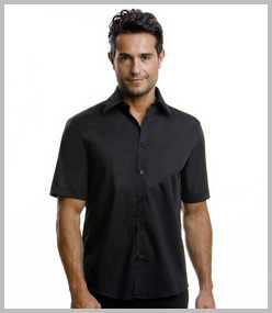 Kustom Kit Short Sleeve Bar Shirt