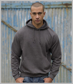 Just Hoods Hooded Sweatshirt