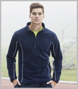 Tombo Teamwear Zip Neck Micro Fleece