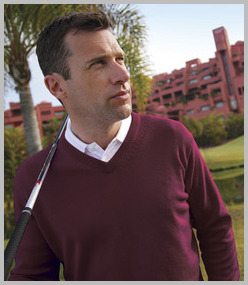 Glenmuir Lomond V Neck Lambswool Sweater