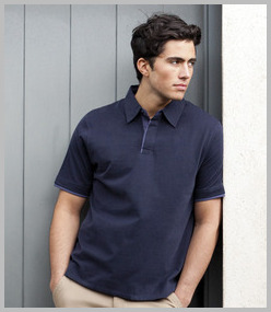 Front Row Collection Super Soft Jersey Polo Shirt